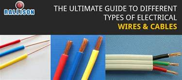 different kinds of wires pvc pvc insulated different