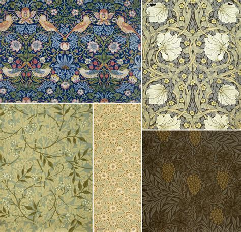 surface pattern design history history of surface design william morris pattern observer
