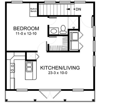 garage with apartment above floor plans home plans homepw03152 520 square 1 bedroom 1