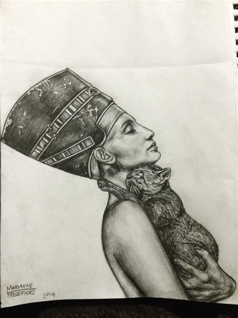 nefertiti by mariannefredericks on deviantart