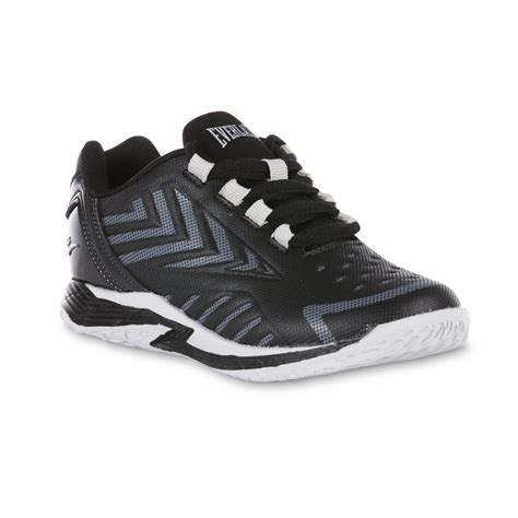 everlast basketball shoes everlast 174 boys dribble low black gray basketball shoe