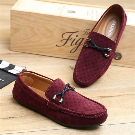 Sepatu Boots Bludru Discount Flat Shoes Slip On Casual Shoes Mens Velvet