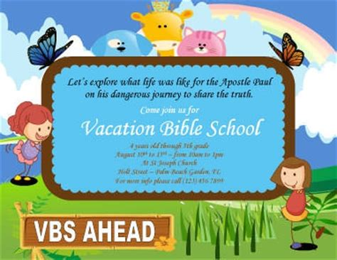 free vbs certificate templates 12 free flyers to promote church events
