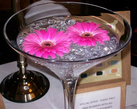Vase Centrepieces by Martini Wedding Centerpieces Ideas About Martini Glass