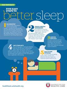 5 steps to better sleep