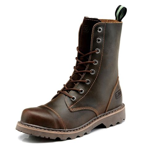 quality mens leather boots high quality s boots genuine leather high winter boots