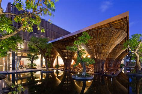 designboom vo trong nghia bamboo kontum indochine cafe by vo trong nghia architects