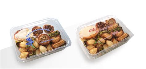 scatole trasparenti per alimenti contenitori trasparenti per alimenti con sta generica