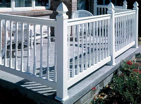 Pvc Handrail Knoxville Railing Siding And Windows