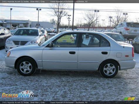 2001 hyundai accent gl 2001 hyundai accent gl sedan silver mist gray photo 11
