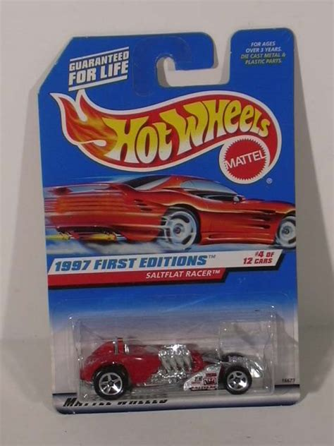 Hotwheels Saltflat Racer 1997 Merah Edition the jumping frog used and out of print books