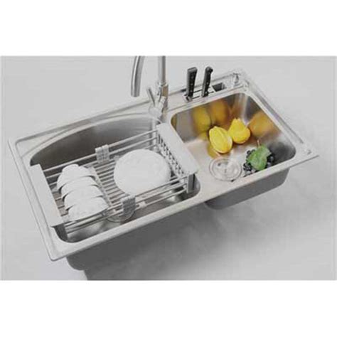kitchen sink dish rack stainless kitchen dish rack fruits and vegetables draining