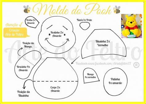 winnie the pooh templates felt winniethepooh pho moldes riscos