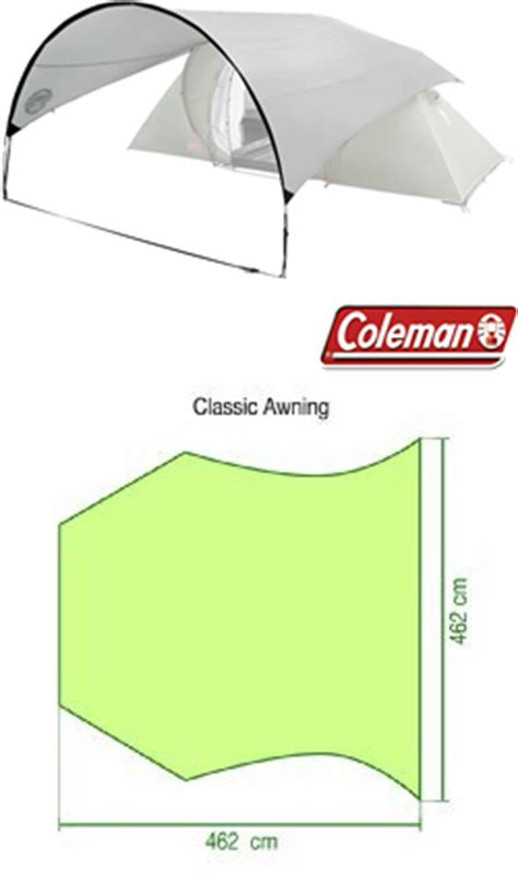 coleman tent awning coleman tent accessories classic awning 163 36 99 at