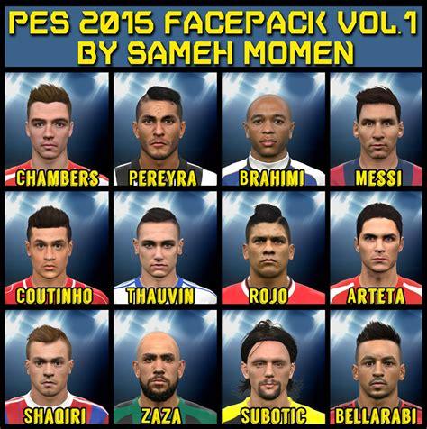 Kaset Fifa 2018 pes 2015 facepack vol 1 by sameh momen pes patch