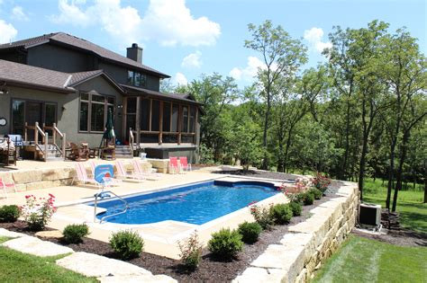 backyard city pools kansas city backyard pools pools by york