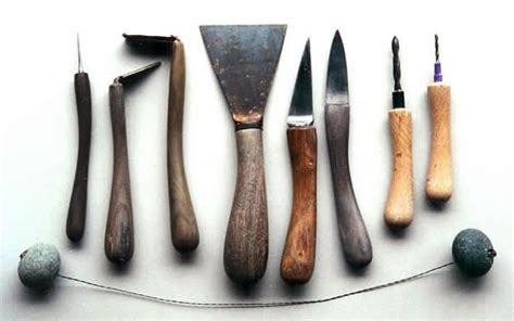 Handcrafted Tools - handcrafted pottery tools mountain pottery