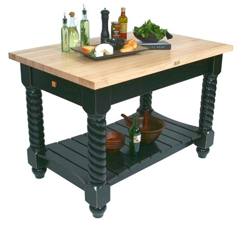 boos block kitchen island john boos tuscan isle maple butcher block island