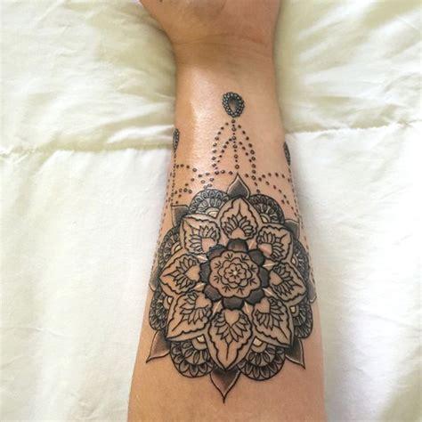 tattoo mandala bracelet 53 top mandala tattoos of all time