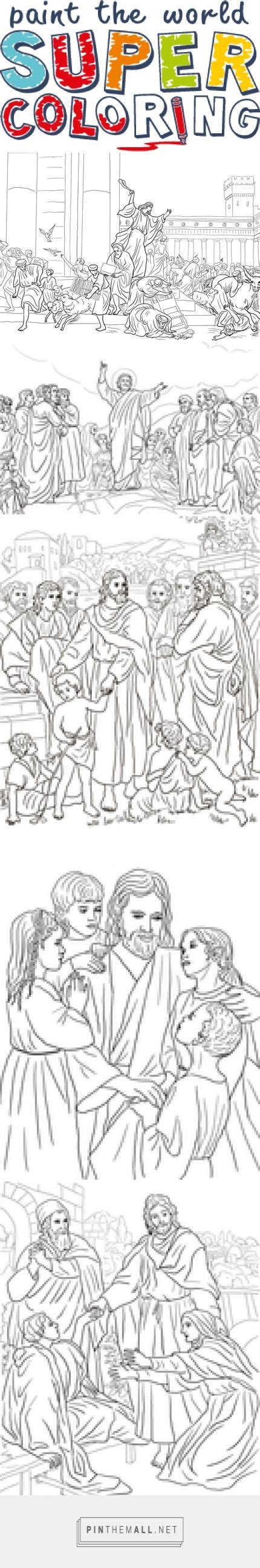 coloring page jesus cleansing temple 716 best images about sabbath school stuff on