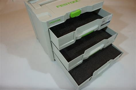 Foam For Tool Boxes Drawers by Drawer Inserts For Your Festool Combi Systainer