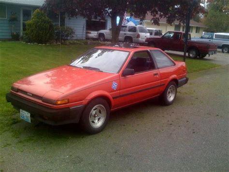 Toyota Sr5 For Sale 1987 Toyota Corolla Sr5 For Sale Washington