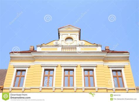 renaissance house renaissance house in jicin stock photo image 58343725