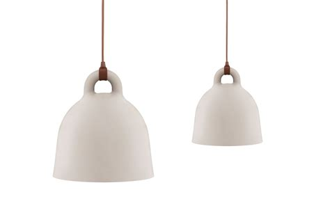 bell l normann copenhagen bell l small a robust and minimalistic ceiling l in matte sand