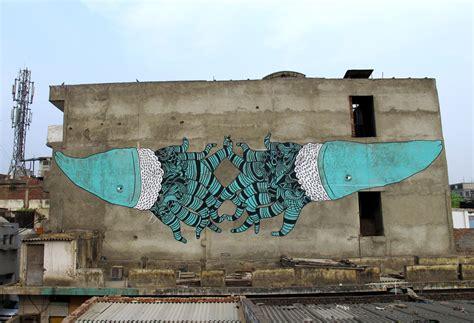 Wall Mural Artist murals graffiti mattia lullini art festival wall painting