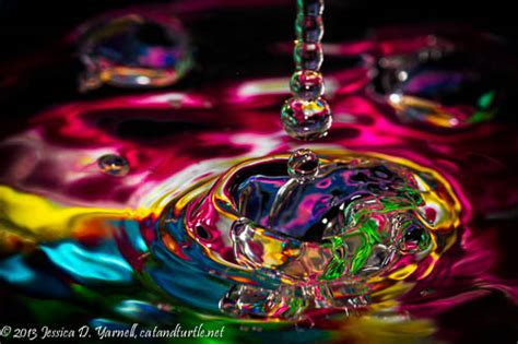 colorful water colorful water droplets catandturtle