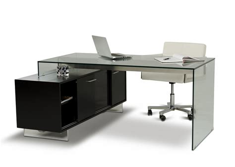 contemporary desk modern office desks archives la furniture blog