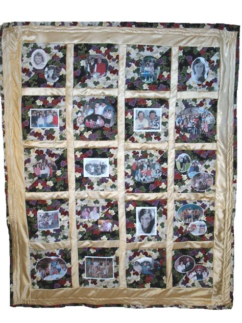 custom photo quilt by the quilter