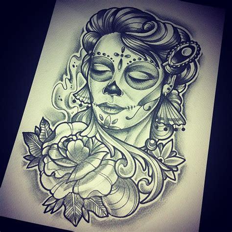 sketch catrina tattoo ta2 tinta tatuaje ink sc skin