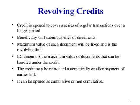 Letter Of Credit Backed Bill Discounting Letter Of Credit
