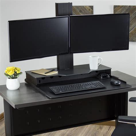 computer desk for 2 monitors desk outstanding computer desk for 2 monitors monitor