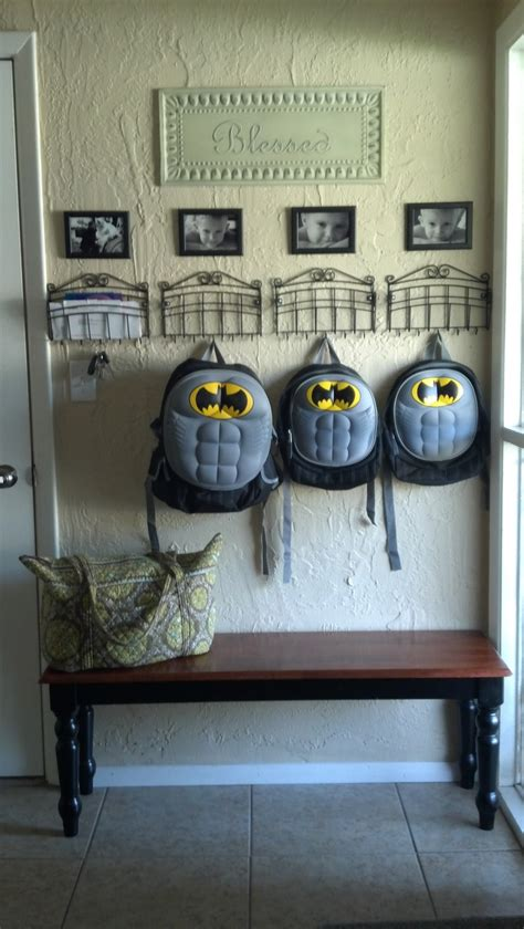backpack storage ideas 25 best ideas about mail station on pinterest mail