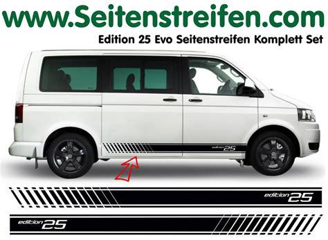 Aufkleber Vw Bus T5 by Vw Bus T4 T5 Multivan Edition Seitenstreifen Aufkleber