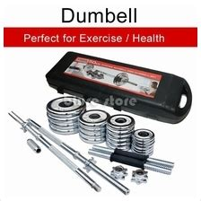 Barbel Dumbbell Besi Rox 8 Kg Chrome Perlengkapan Fitnes 50kg dumbell price harga in malaysia wts in lelong