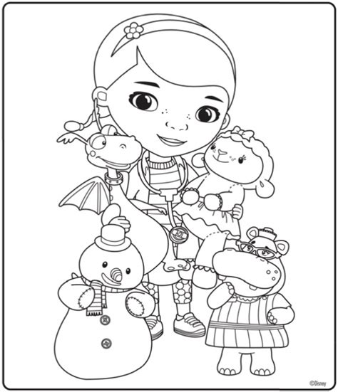 disney jr coloring pages doc mcstuffins doutora brinquedos desenhos para imprimir colorir e pintar
