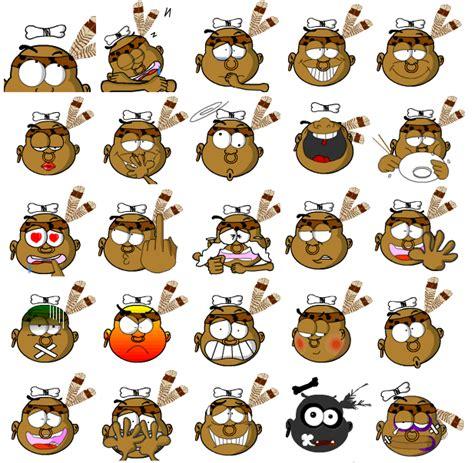 chinese font design emoticon american indians cartoon picture emoticon emoji free