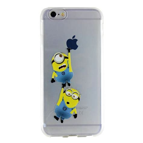 Minion Iphone 6 6s de silicone minions iphone 6 6s emp 243 das cases