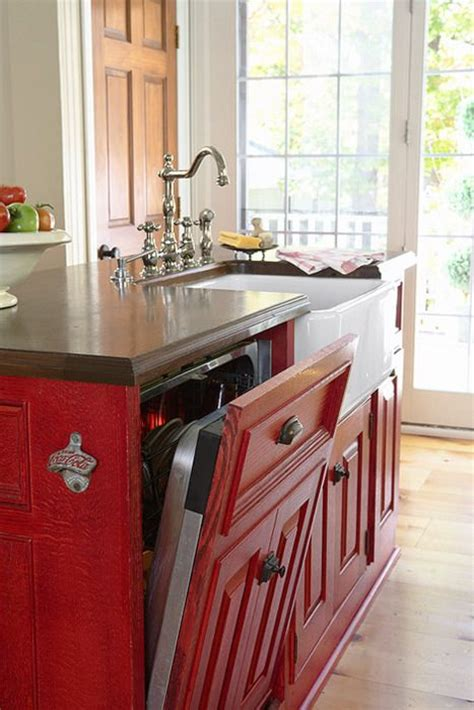 kitchen islands with dishwasher 31 smart kitchen islands with built in appliances digsdigs