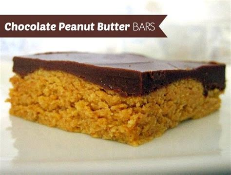 no bake peanut butter bars with chocolate on top no bake chocolate peanut butter bars food folks and fun