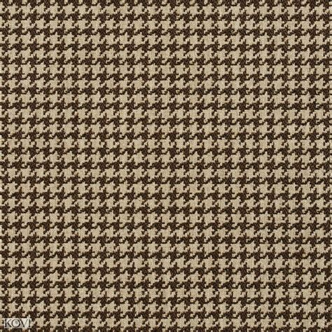 brown houndstooth pattern desert beige and brown houndstooth tapestry upholstery fabric