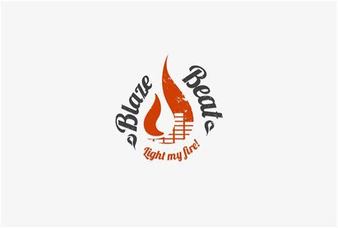 Studio Interior Design Ideas blaze beat logo design orange cup studio