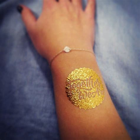 gold pattern tattoo 50 gold tattoo designs and ideas for women feel like a