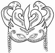 Mascaras De Carnaval Para Imprimir Recortar Pintar E Colorir
