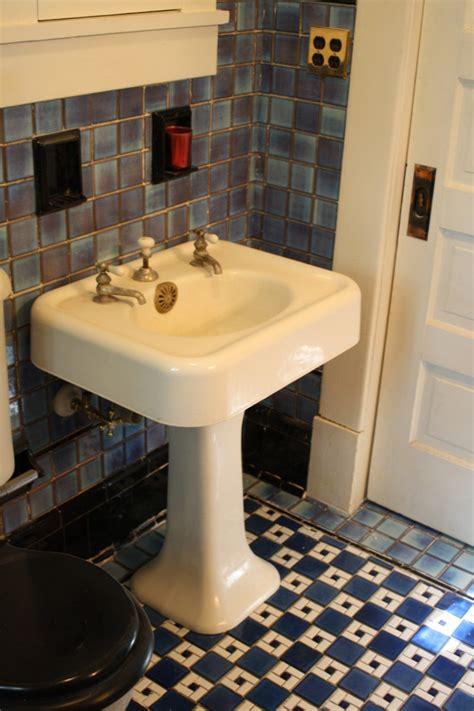 tile bathroom sink american universal blue black tile bathroom sink