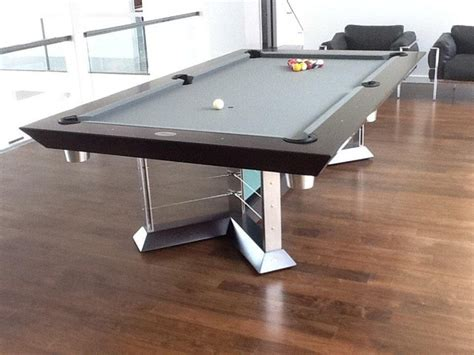 glass pool table modern living room new york by