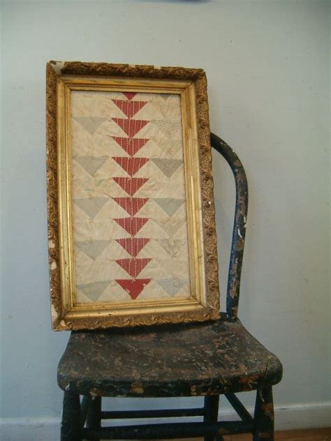 Antique Quilting Frames by Reserved Circa 1890 Quilt Sler In Gilt Frame Antique